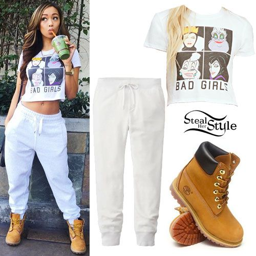 timberland boots instagram | Liane V: 'Bad Girls' Tee, Timberland Boots - Best 20+ Timberland Outfits Women Ideas On Pinterest Tims Boots