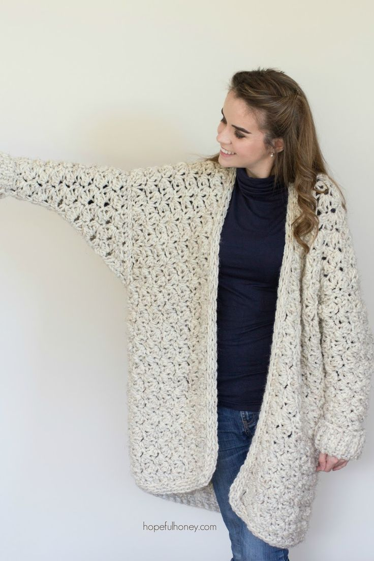 Coastal Fog Chunky Cardigan - But seriously...doesn't this cardigan look SO comfy and warm??