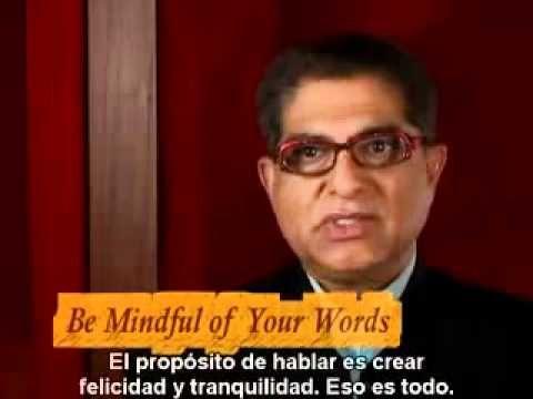 ▶ DEEPAK CHOPRA La Receta de la Felicidad 8 pasos iluminacion flv - YouTube