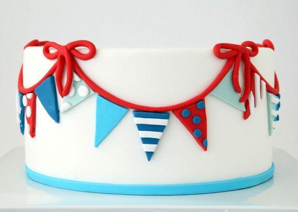 Cake it Pretty: A Trio of DIY Nautical Cakes Using Sugar Paste Fondant by Bird's Party