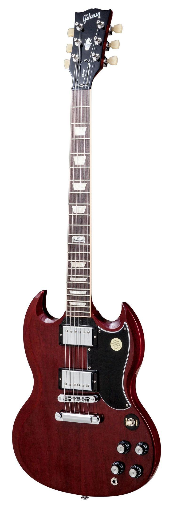 Gibson 2014 SG Standard Min-ETune Heritage Cherry #gibson #guitar