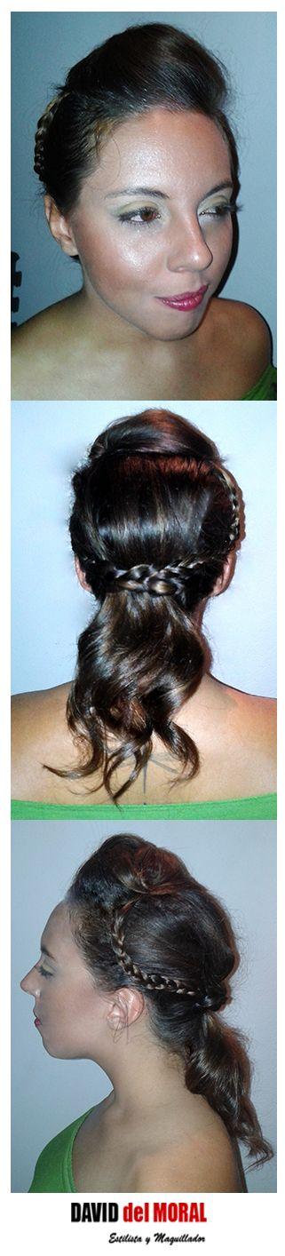 #semirecogido #trenzado #trenzas #rizado #ondas #tirabuzones #maquillaje #Makeup #estilo #estilismo #femme #party #fiesta #evento #ghd #hair #cabello #peinado #tupe #hairstyle