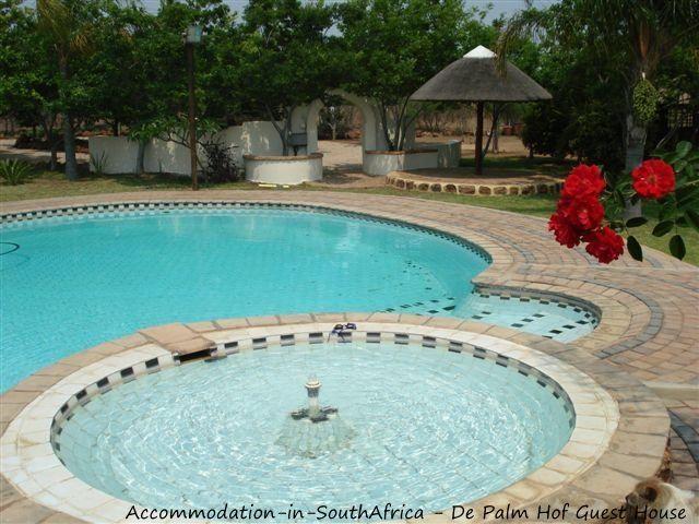 Beautiful pool at De Palm Hof Guest House. http://www.accommodation-in-southafrica.co.za/Gauteng/Pretoria(Tshwane)/DePalmhofGuesthouse.aspx