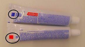 Você já viu esse quadradinho colorido no tubo da pasta de dente? Veja o que ele significa   Batanga