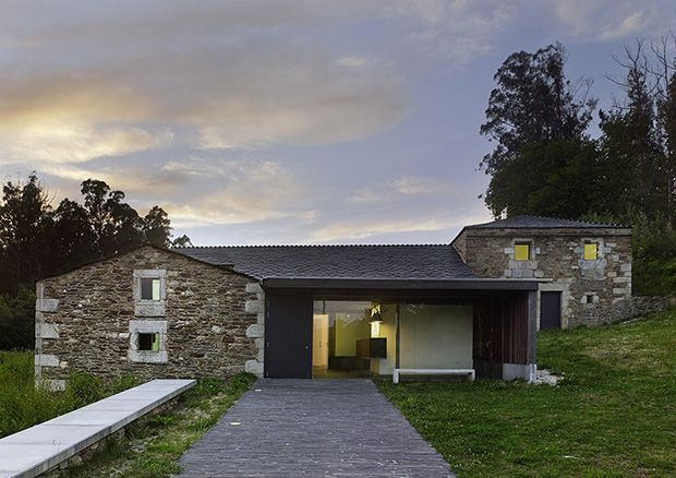 Centro de recepción de visitantes das Fragas do Eume   Sabín-Blanco Arquitectos   San Fiz,  Monfero 2014   Santos-Díez   BISimages