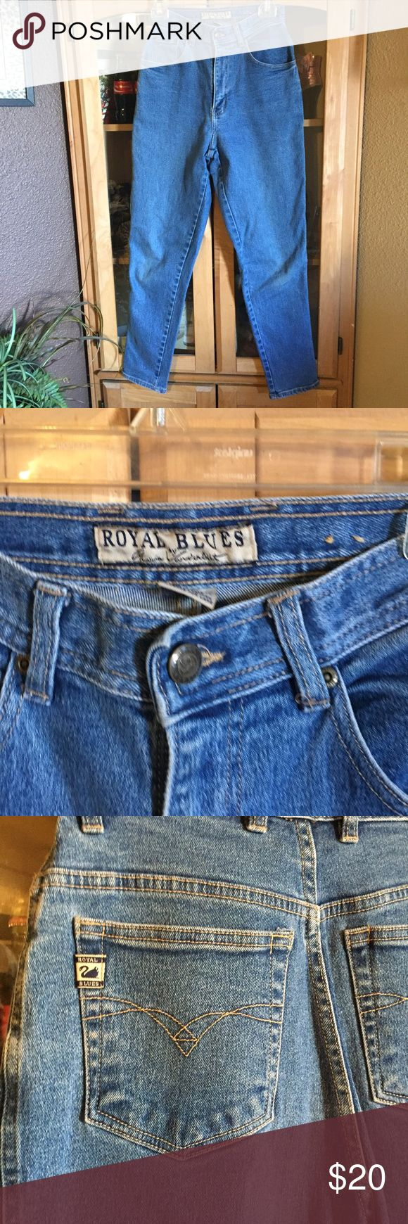 Vintage Mom jeans Royal Blues from Gloria Vanderbilt.  EUC from non smoking home Gloria Vanderbilt Jeans