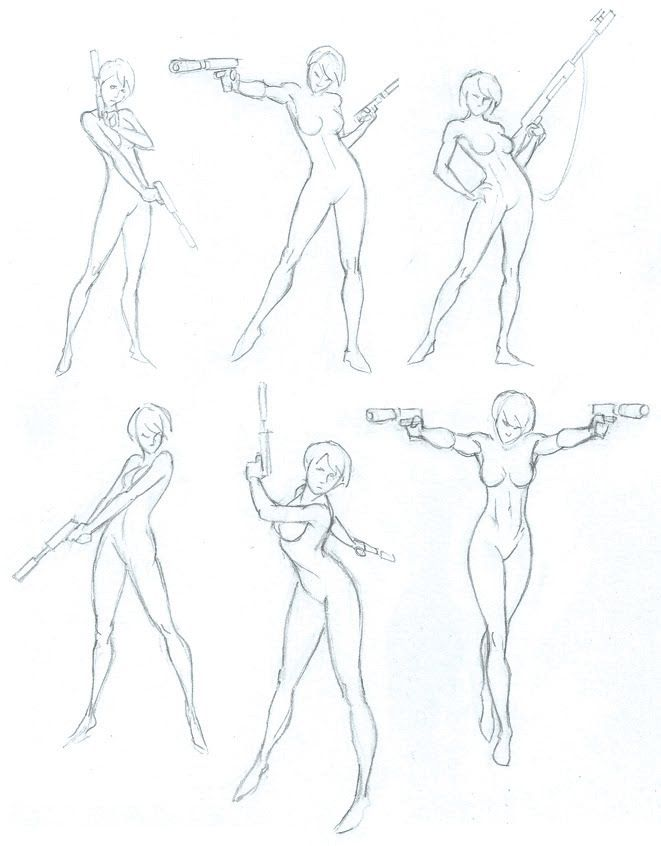 Super Character Design Poses Pdf : Superhero pose reference i really like all of them