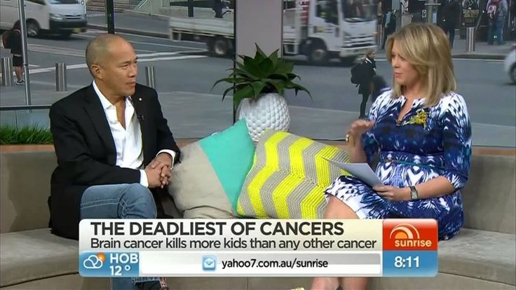 See Erin Griffin's brain cancer battle and hear Charlie Teo speak about Cure Brain Cancer's awareness campaign on Sunrise. 7 August 2014. Find out more and join the fight at curebraincancer.org.au
