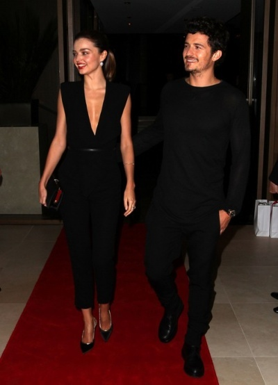 all black couple look