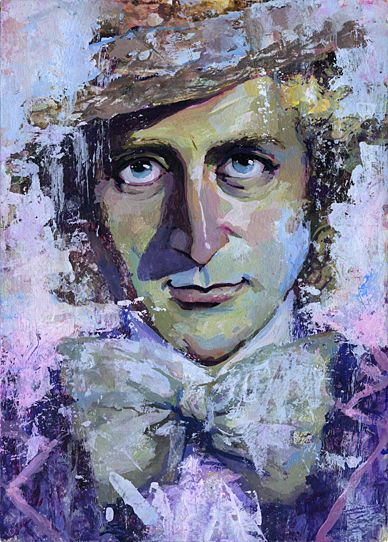 Willy Wonka painting