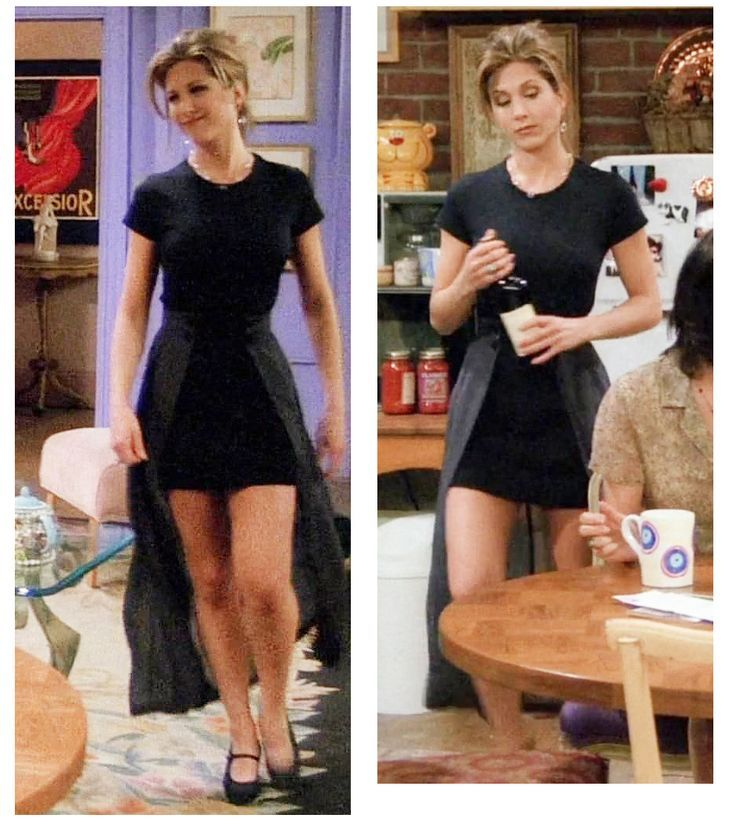 Rachel and her perfectly put together outfits