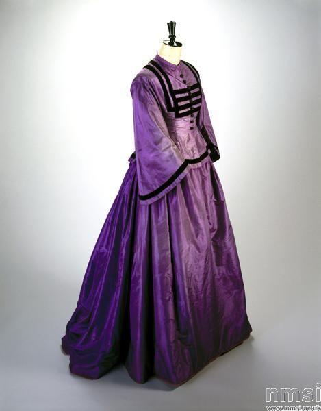 la_gatta_ciara: Платья XIX века. Анилиновые красители.
