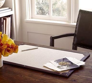 Hawthorne Desk Blotters (2) | Pottery Barn| $50 | Office Desks | 24x16