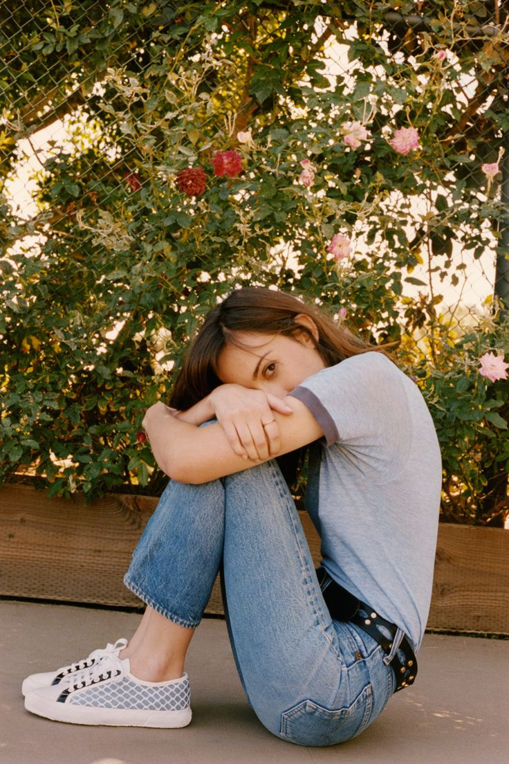 Gia Coppola in Rodarte For Superga, courtesy of Superga