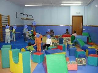 Actividades para Educación Infantil: Psicomotricidad. Espacio. Sesiones.