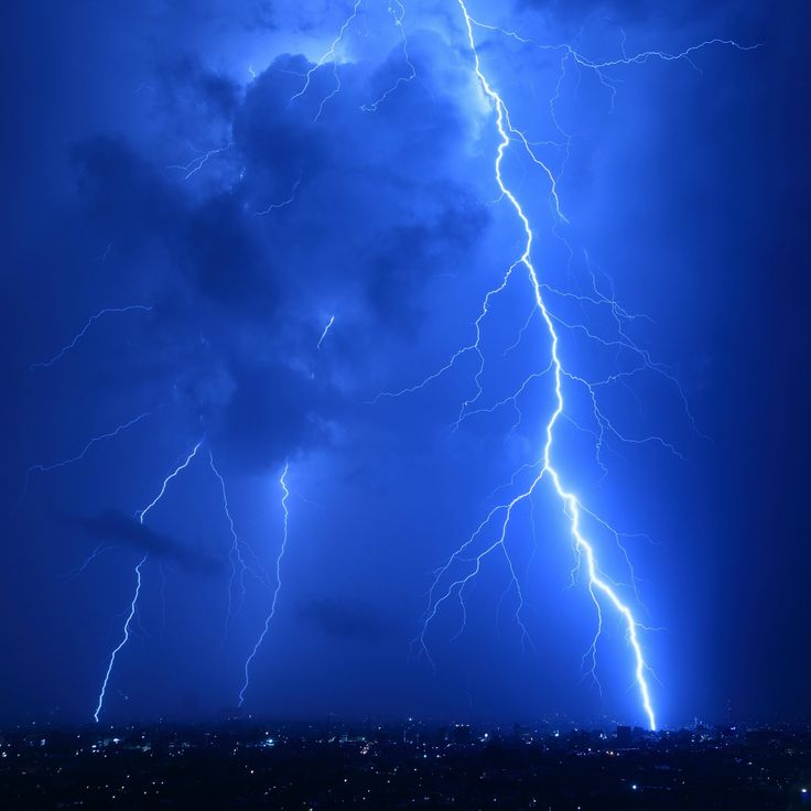 cool lightning strikes ipad air wallpaper
