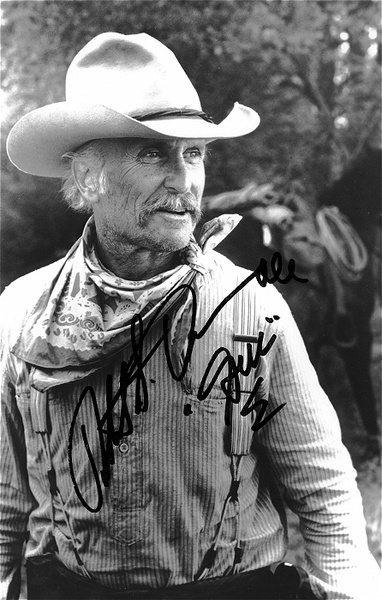 "robert duvall in ""Lonesome Dove."" watch this at least 3 times a year"