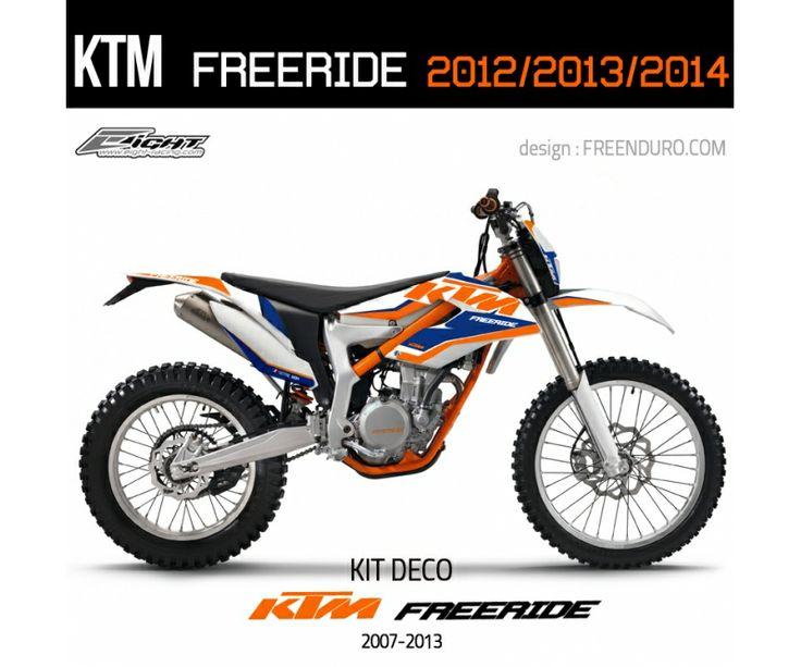 Kit déco KTM Freeride  http://www.eight-racing.com/fr/kit-deco-ktm-exc/1320-kit-deco-ktm-freeride-.html