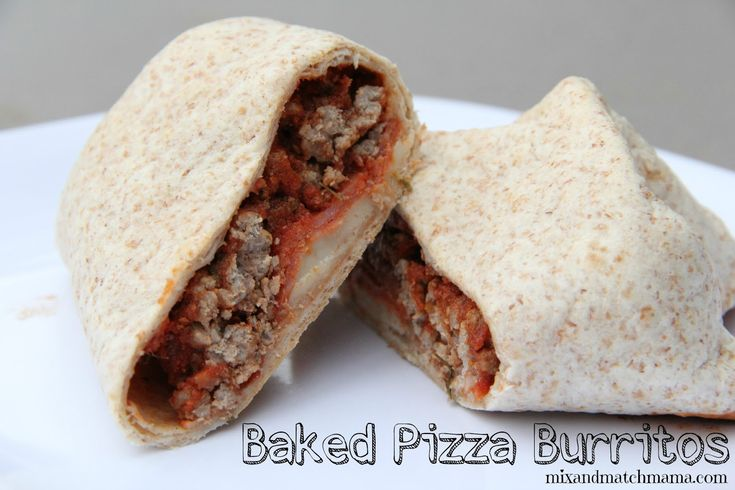 I'm not going to lie…I have a baked burrito obsession.  They're just so simple to...