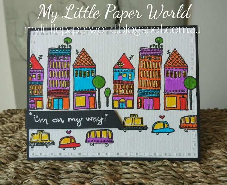 My Little Paper World: April 2016 On the Way Unity Stamp