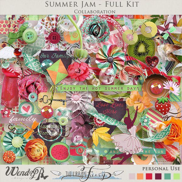Summer Jam { Page Kit }