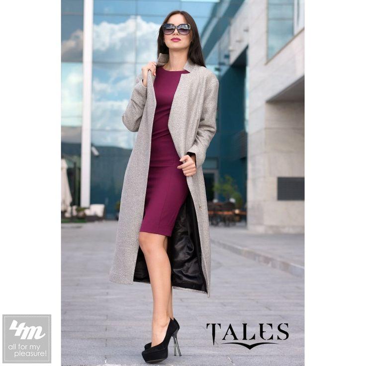 Пальто Tales «Selesta» (Серый) http://lnk.al/3G7r  Великолепное осенне-весеннее пальто из буклированной шерсти. Модель изящно садится по фигуре и подчеркивает женскую грацию. Качественная натуральная ткань подарит тепло и чувство комфорта. Пальто имеет оригинальную ассиметричную застежку на молнию. #пальто #нарядно #стильнаяодежда #одеждаУкраина #интернетмагазинодежды #купитьпальто #4m #4m.com.ua