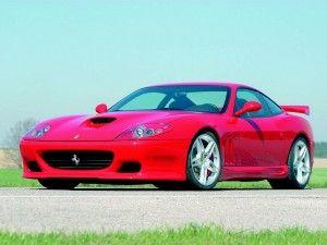 Ferrari 575 M Maranello Bureaublad Achtergrond
