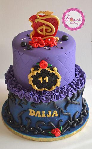 Disney Descendants Cake | por The Cupcake Factory Barbados