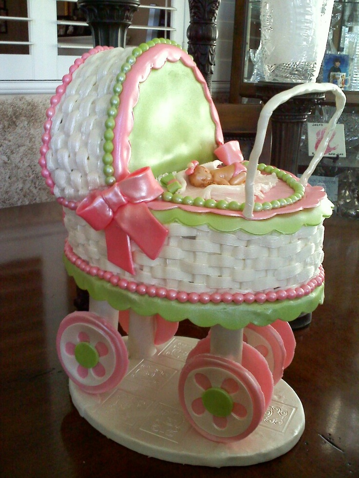 Baby Stroller Cake My Creations Dalizious Cake
