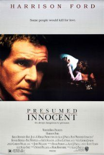 Presumed Innocent (1990) Poster