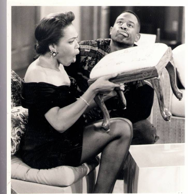 Tisha Campbell & Martin Lawrence - Sitcoms Online Photo Galleries