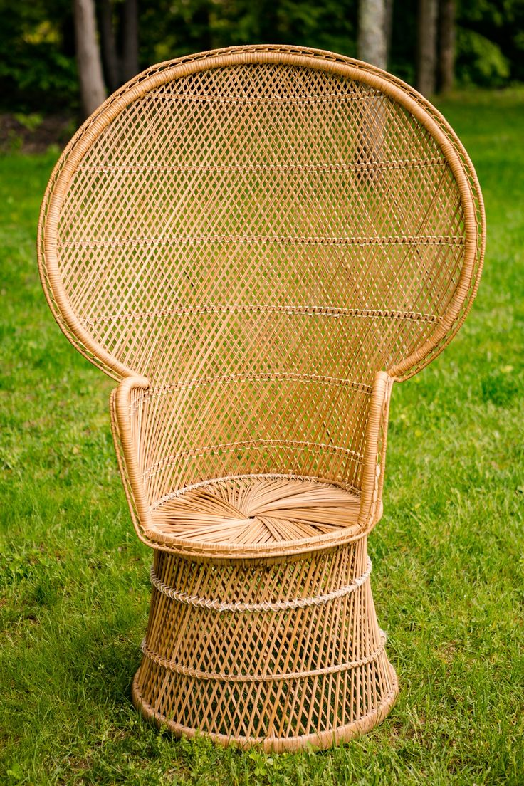 Chaises peacock in 2020 wicker chair wicker chair