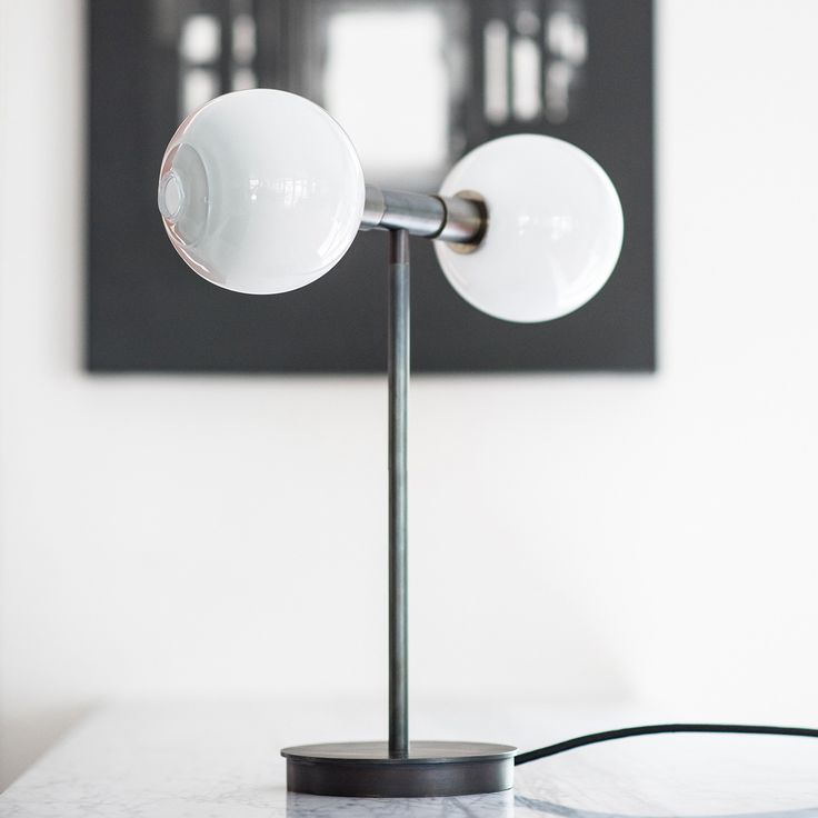 High Quality Stem Double Sphere Table Lamp. Modern Table LampsWall ... Great Ideas