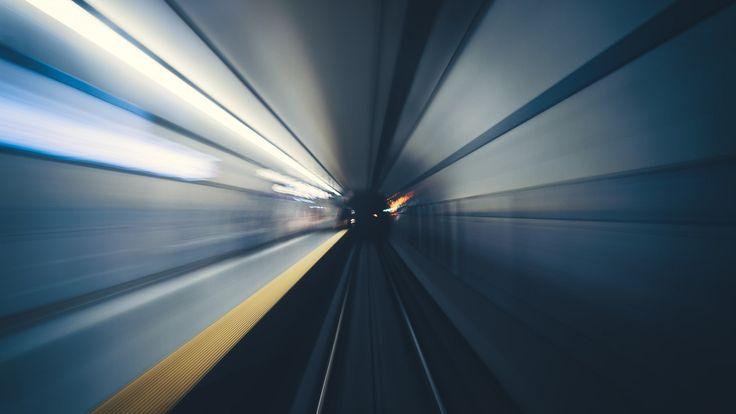 Toronto Subway Tunnel at the Speed of Light | John Cavacas Photography