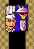 Het Abstracte Schilderen Van Een Chef-kok - Downloaden van meer dan 60 Miljoen hoge kwaliteit stock foto's, Beelden, Vectoren. Schrijf vandaag GRATIS in. Afbeelding: 1104248