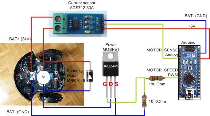 Arduino high power motor driver for robots etc. (30A, single direction) | Seeed Studio WISH (beta)