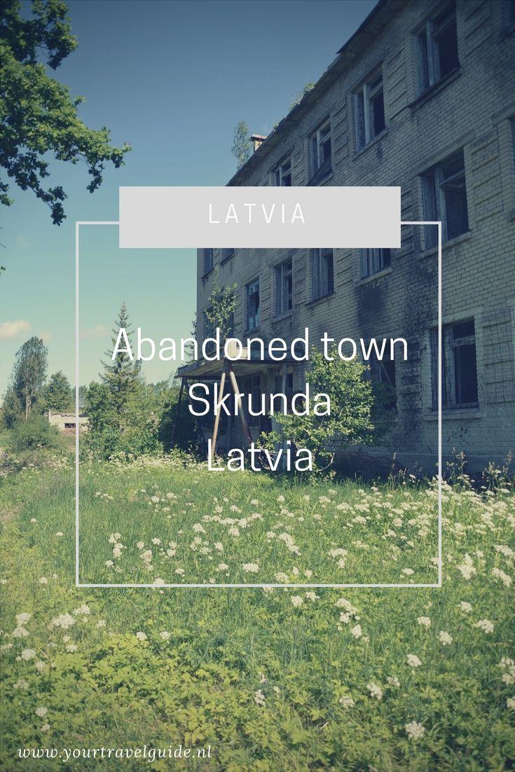 Skrunda, de verlaten stad in Letland