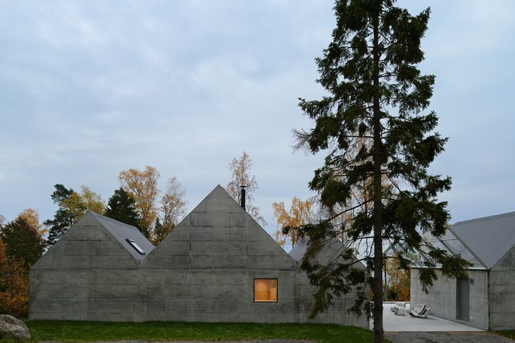 Summerhouse Lagnö in the Stockholm archipelago by Tham & Videgård Arkitekter.