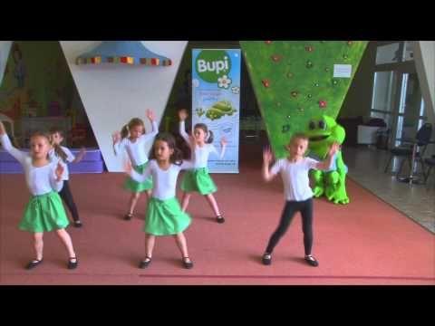 Rozcvička so žabkou BUPI - YouTube