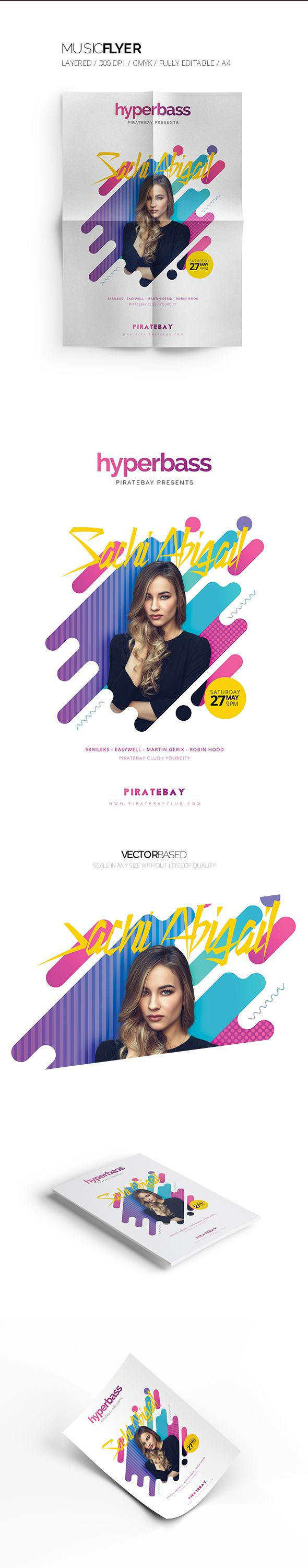 """Check out this @Behance project: """"Music Flyer"""" https://www.behance.net/gallery/51654385/Music-Flyer"""