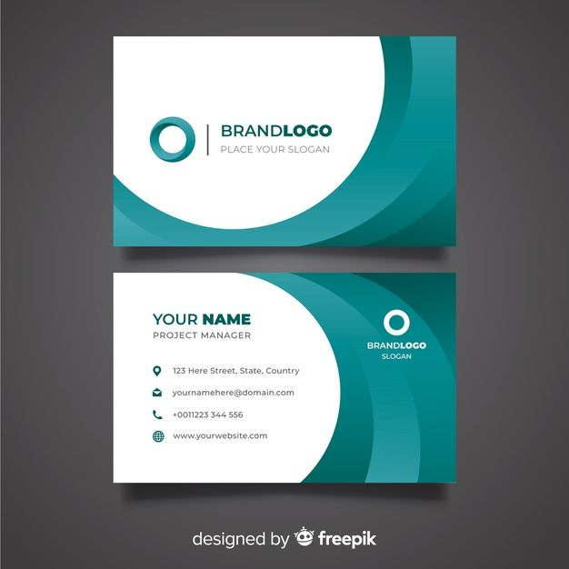 Download Abstract Business Card Template For Free Free Business Card Templates Business Card Template Card Template