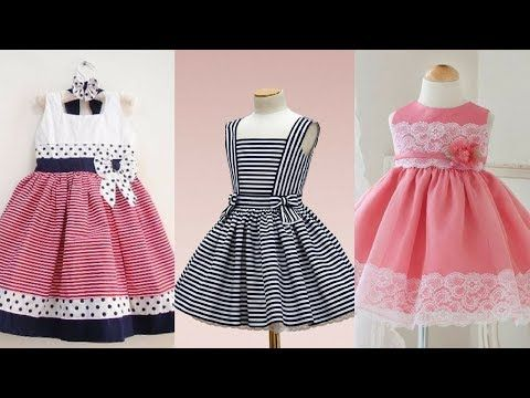 29d77672d5 Top 50 Cotton Frocks Designs For Kids - Simple   Stylish Kids Cotton Dresses  Ideas 2017 - YouTube