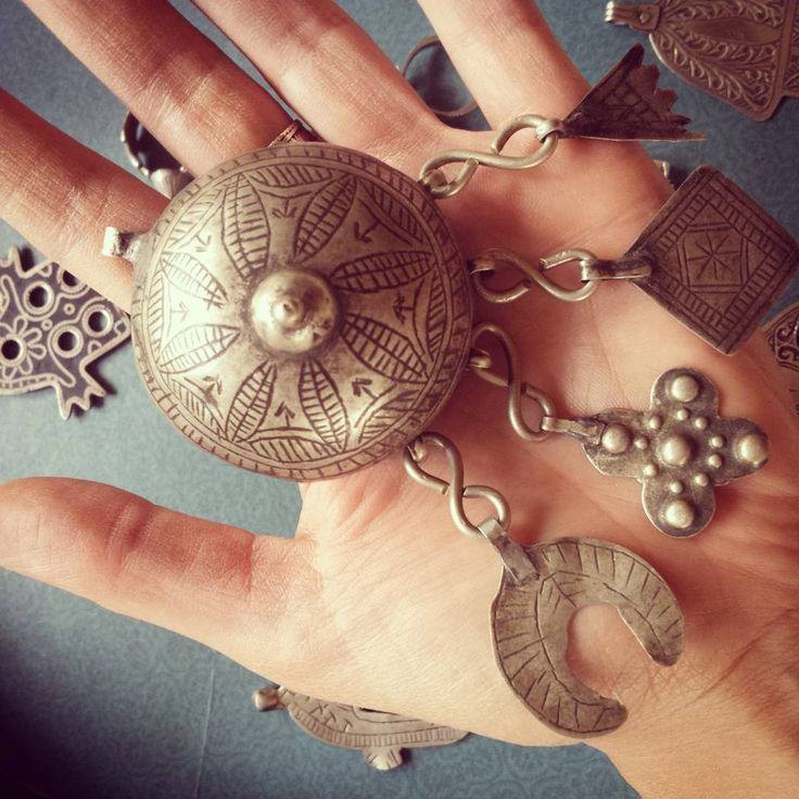 Berberyjski, srebrny sekretnik. Na modlitwy. Unikat, antyk. . . . #berbersilver #antiquesilver #starabizuteria #sekretnik #srebro #unikaty