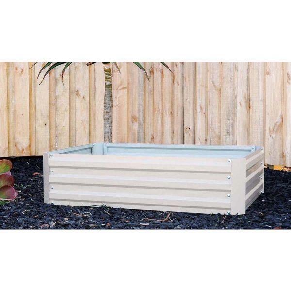 Garden Bed Metal 120x30x90cm In Charcoal Colour | Hardware & Garden  | Cheap as Chips