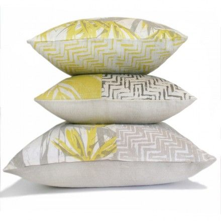 """patched sherbet cushions"" By clothfabric"