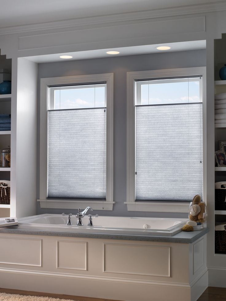 34 best honeycomb shades images on pinterest honeycomb for What type of blinds for bathroom