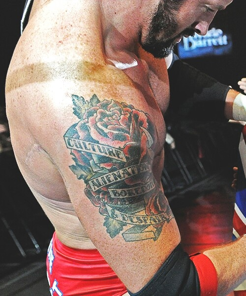 Wade Barrett.....I'm really digging the freckles
