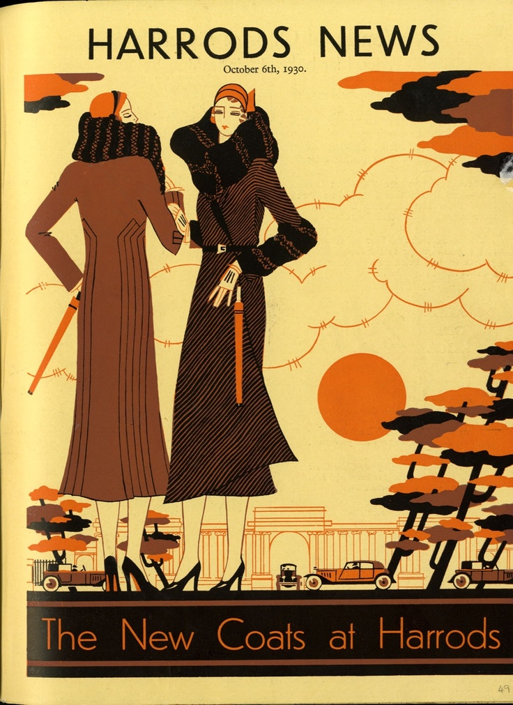 Harrods News 1930- 1960 Cover