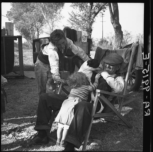 Destitute family. American River camp, Sacramento, California. Five children, aged two to seventeen yearsDorothea Lange, November 1936, Sacramento, Seventeen Years, California, Rivers T-Shirt, Destitute Families, Rivers Camps, American Rivers