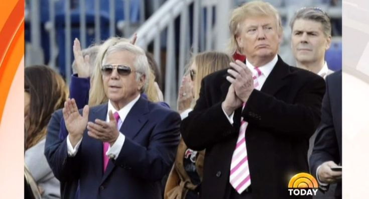 """During an interview with Patriots owner Robert Kraft about his NFL team's Super Bowl win, on Monday's NBC Today, co-host Matt Lauer turned the conversation to politics and demanded Kraft defend his friendship with President Trump: """"Your relationship with Donald Trump, I should mention, goes back a while.... Has your relationship with Donald Trump in any way strained your relationship with some of your players? Who, by the way, some say they don't want to go to the White House to celebrate…"""